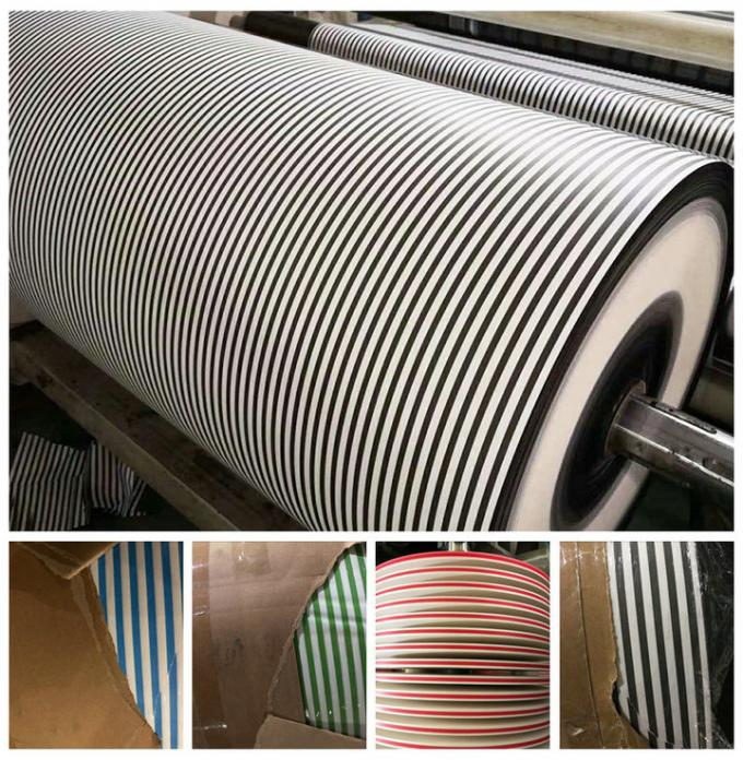 Perfect Printing Effect 60gsm 120gsm Food Grade White Straw Paper For Making Paper Straws