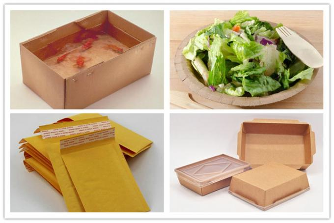 FDA FSC 300gsm 350gsm Brown Single PE Coated Paper Sheet for Box of Food